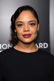 Tessa Thompson channeled the '20s with this finger-wave updo for her National Board of Review Gala look.