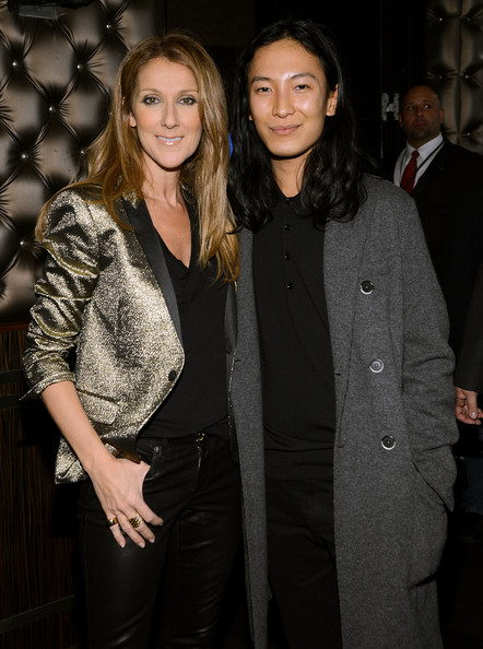 Celine Dion Wide Band Ring [celine dion,alexander wang,pandora presents,fashion,event,suit,outerwear,formal wear,fashion design,smile,style,blazer,nyc,the edison ballroom,l]