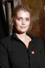 Kitty Spencer kept it casual with this loose ponytail when she attended Centrepoint's Ultimate Pub Quiz.