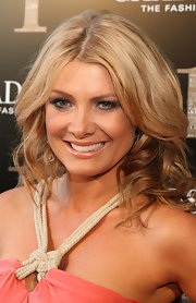 Natalie Bassingthwaighte had her tresses curled for the launch party of Chadstone Shopping Centre.