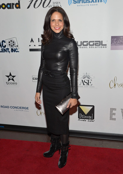 More Pics of Soledad O'Brien Metallic Clutch (2 of 5) - Soledad O'Brien Lookbook - StyleBistro