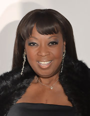 Star Jones kept her beauty look subtle and sultry with this gradual smoky eye.