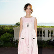 Alexa Chung at the 2011-12 Chanel Collection Croisiere Show