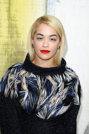 Rita Ora stuck to a simple bob when she attended the Chanel fashion show.