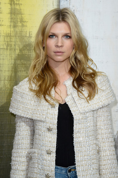 More Pics of Clemence Poesy Long Wavy Cut (1 of 4) - Long Wavy Cut Lookbook - StyleBistro