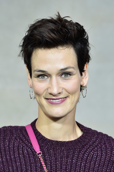Clotilde Hesme rocked a messy-chic 'do at the Chanel Spring 2015 show.