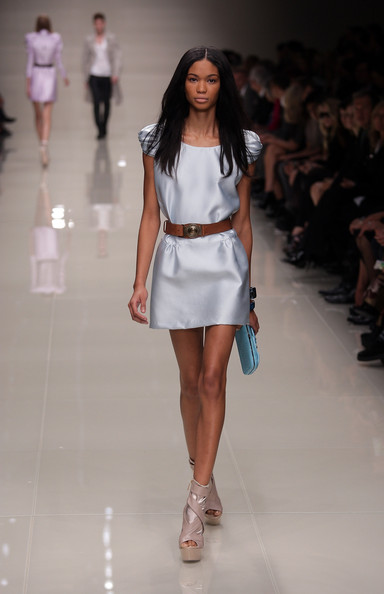 Chanel Iman Leather Belt