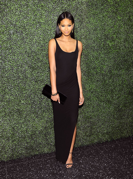 Chanel Iman Evening Dress