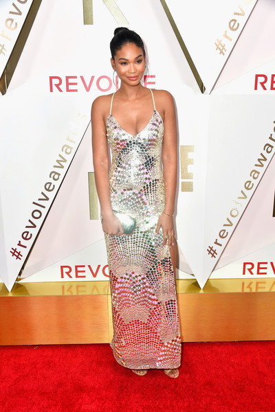 Chanel Iman Sequin Dress