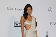 Chanel Iman One Shoulder Dress