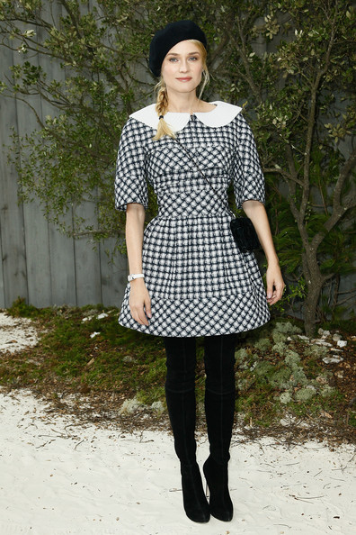More Pics of Diane Kruger Day Dress (5 of 8) - Diane Kruger Lookbook - StyleBistro