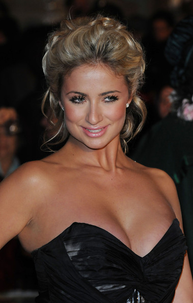 Chantelle Houghton Bobby Pinned Updo
