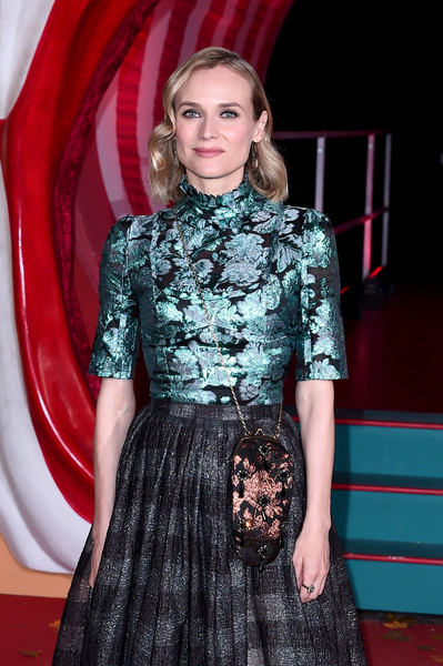 More Pics of Diane Kruger Pumps (1 of 7) - Heels Lookbook - StyleBistro [it chapter two,clothing,red carpet,carpet,fashion,fashion model,flooring,premiere,dress,haute couture,event,vip arrivals,diane kruger,european,england,london,the vaults,premiere,it chapter two european premiere]