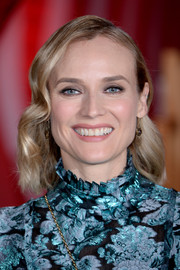 Diane Kruger looked pretty with her short waves at the European premiere of 'IT Chapter Two.'