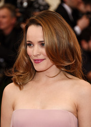 Rachel McAdams attended the Met Gala wearing a gorgeous, sexy high-volume 'do with a side part and wavy ends.