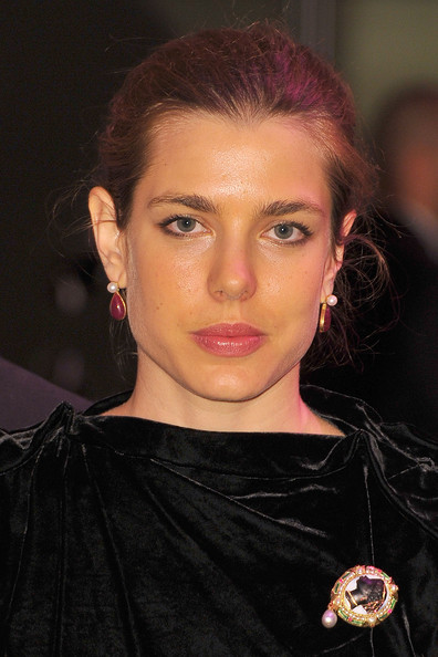 Charlotte Casiraghi Pearl Brooch