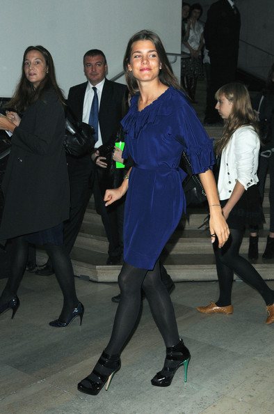 Charlotte Casiraghi Day Dress