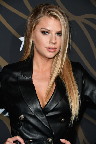 Charlotte McKinney Long Straight Cut