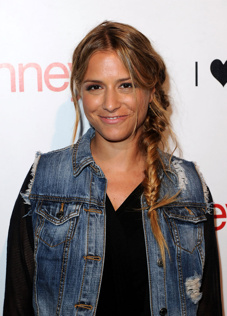 Charlotte Ronson Long Braided Hairstyle Charlotte Ronson