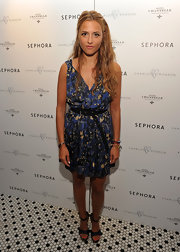 Charlotte Ronson donned a pretty floral frock for a Sephora-sponsered event in NYC.