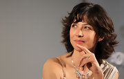 Sophie Marceau's short cut with bangs had an arresting attitude of its own.