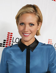 Brittany Snow's slicked-back bob was serenely sweet with just the right amount of sass.