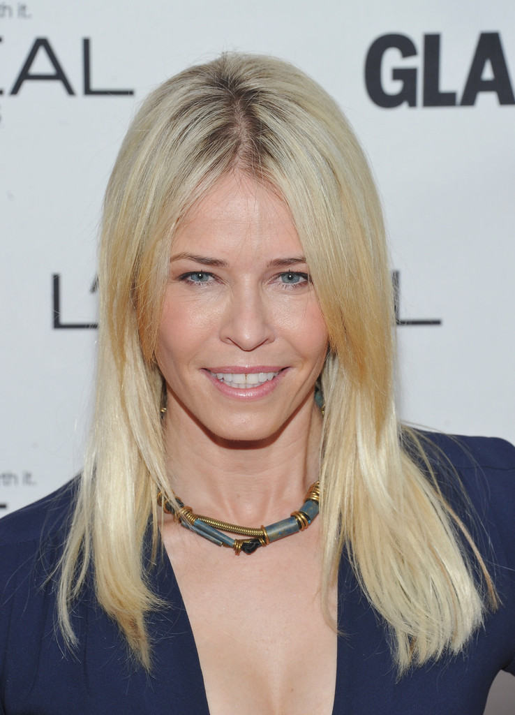Chelsea Handler Long Straight Cut Hair Lookbook Stylebistro