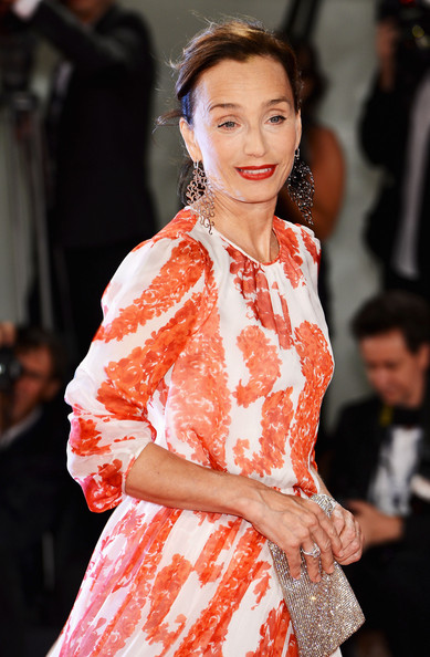 More Pics of Kristin Scott Thomas Dangle Decorative Earrings (1 of 44) - Kristin Scott Thomas Lookbook - StyleBistro