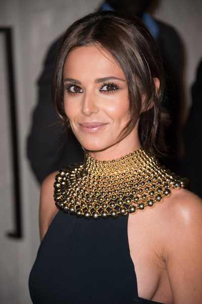 Cheryl Fernandez-Versini Gold Statement Necklace