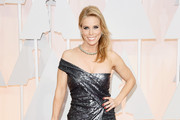 Cheryl Hines Off-the-Shoulder Dress