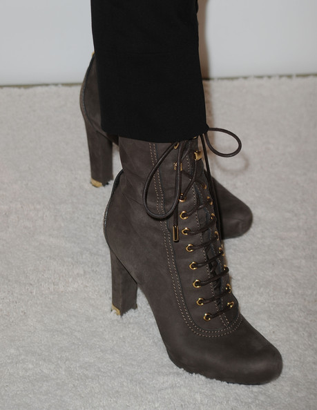 Cheryl Tiegs Lace Up Boots
