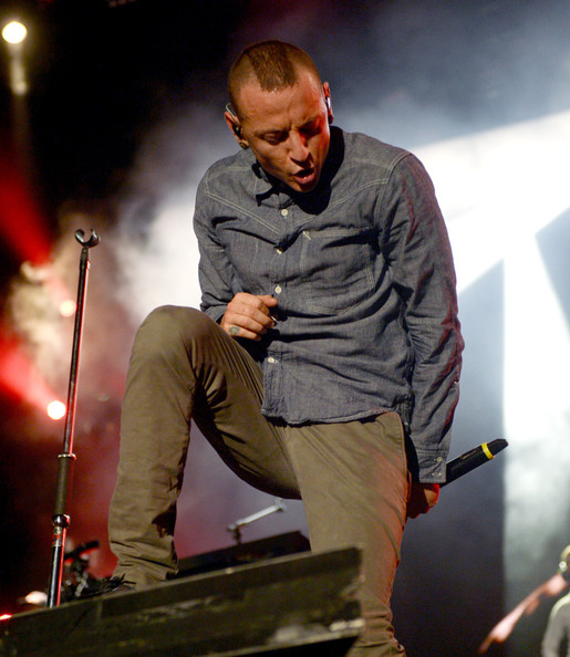 Chester Bennington Button Down Shirt