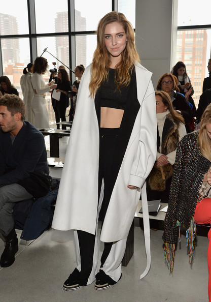 Chiara Ferragni Wool Coat