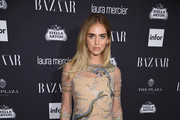 Chiara Ferragni Sheer Dress
