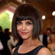 Katie Holmes' bob with bangs