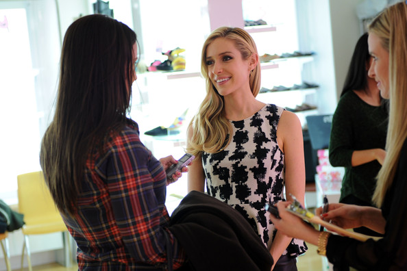 More Pics of Kristin Cavallari Knee Length Skirt (2 of 13) - Kristin Cavallari Lookbook - StyleBistro