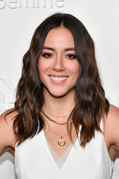 Chloe Bennet Long Wavy Cut