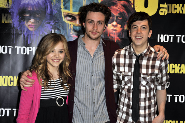 """Kick-Ass"" Cast Meet And Greet Fan Event At Hot Topic"