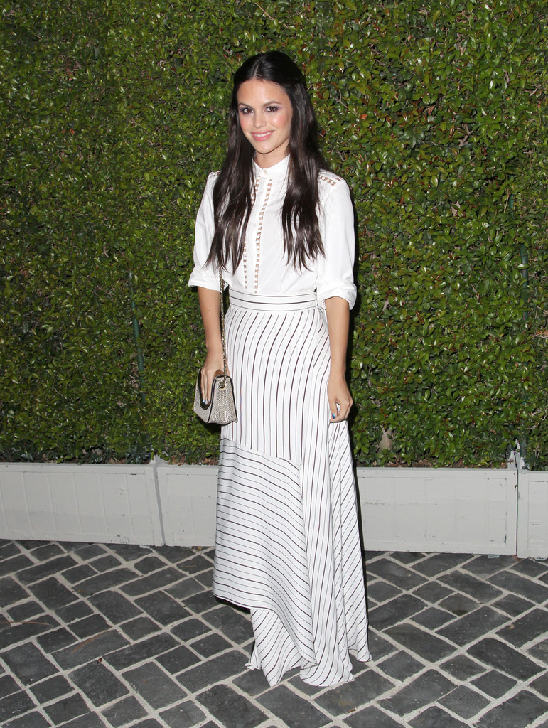 Actress Rachel Bilson attends Chloe Los Angeles Fashion Show & Dinner hosted by Clare Waight Keller, January Jones and Lisa Love on October 29, 2013 in Los Angeles, California.