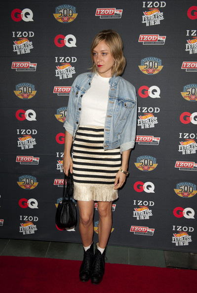 Chloe Sevigny Lace Up Boots