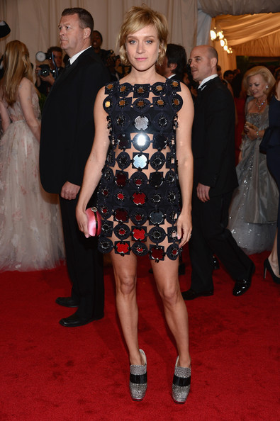 Chloe Sevigny Beaded Dress