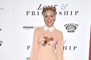 Chloe Sevigny Embroidered Dress