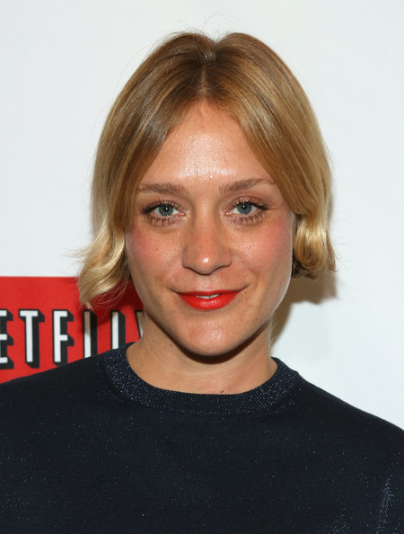 Chloe Sevigny Red Lipstick [orange is the new black,hair,face,hairstyle,blond,chin,eyebrow,lip,forehead,shoulder,long hair,chlo\u00eb sevigny,new york city,the new york botanical garden,new york premiere]