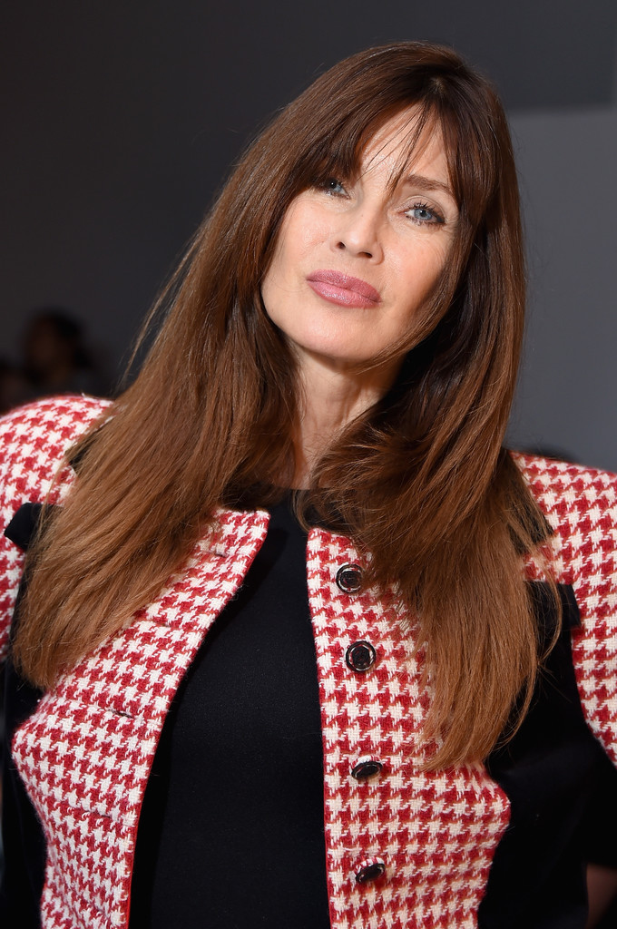 Carol Alt S Stylish Layers Long Haircuts For Women Over