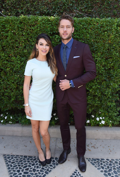 Chrishell Stause Mini Dress [fashion,event,footwear,dress,formal wear,suit,photography,shoe,white-collar worker,style,beverly hills,california,rape foundations annual brunch,the rape foundations annual brunch,chrishell stause,justin hartley]