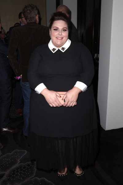 Chrissy Metz Evening Dress [black,dress,formal wear,little black dress,beauty,lady,fashion,outerwear,flooring,girl,chrissy metz,dress,wear,fashion,teen choice awards,the beverly hilton hotel,california,beverly hills,summer tca tour,television critics association awards,chrissy metz,this is us,fashion,photography,peter pan collar,little black dress,dress,getty images,teen choice awards]