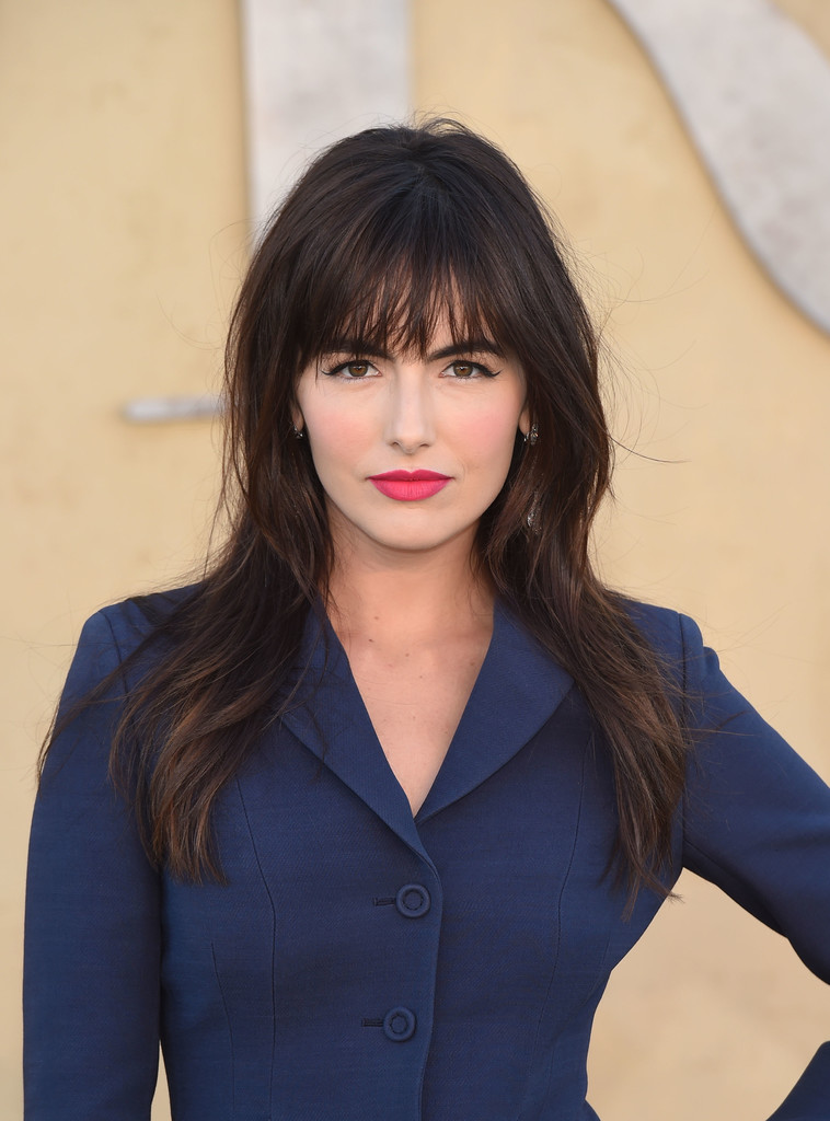 Camilla Belle The Best Celebrity Bangs You Ll Want To
