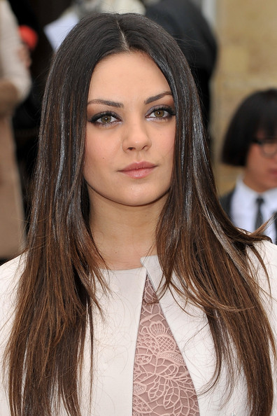 More Pics of Mila Kunis Neutral Eyeshadow (5 of 9) - Mila Kunis Lookbook - StyleBistro