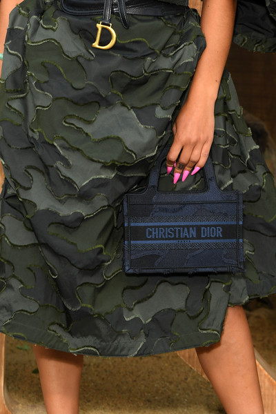 More Pics of Jorja Smith Embroidered Dress (1 of 4) - Dresses & Skirts Lookbook - StyleBistro [military camouflage,camouflage,clothing,pattern,leg,design,shorts,army,military,organization,christian dior,jorja smith,bag detail,part,summer 2020,paris,christian dior womenswear spring,photocall - paris fashion week,show,paris fashion week]