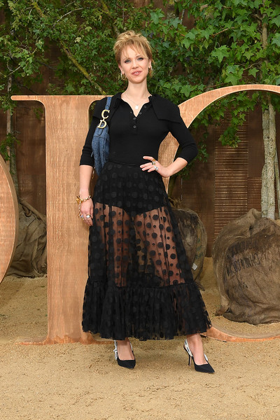 More Pics of Juno Temple Sheer Skirt  (3 of 4) - Dresses & Skirts Lookbook - StyleBistro [clothing,lady,dress,pattern,christian dior,juno temple,part,summer 2020,paris,france,christian dior womenswear spring,photocall - paris fashion week,show,paris fashion week]